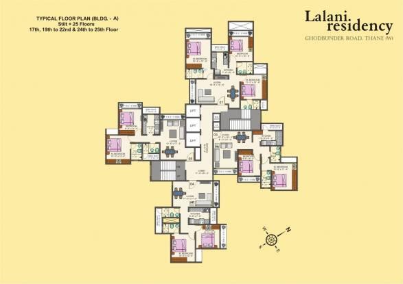 Lalani Residency Cluster Plan