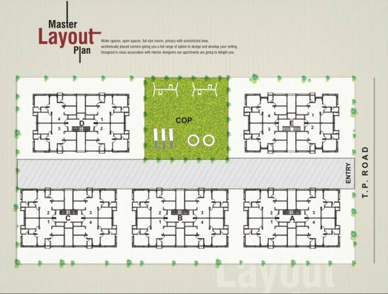 Swagat Blossom Layout Plan