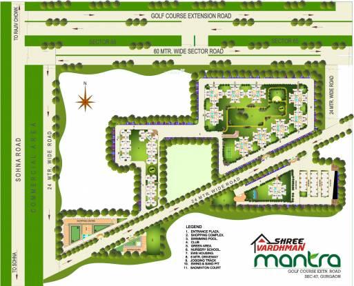 Shree Mantra Site Plan