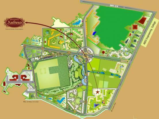 Arihant Ambience Location Plan