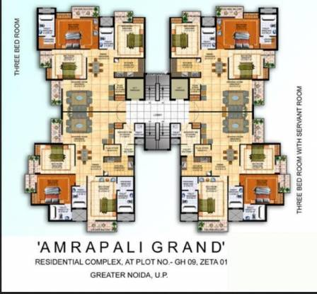 Amrapali Grand Cluster Plan