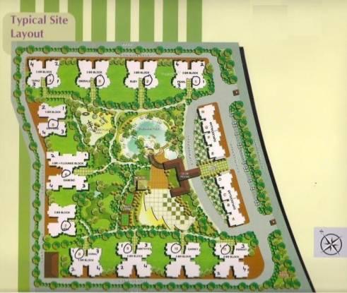 Amrapali Grand Layout Plan