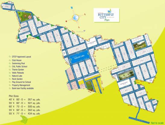 Fortune Butterfly City Site Plan