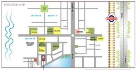 Sunny Orchid Residency Location Plan