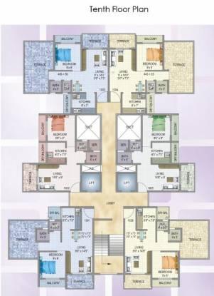 MK Vakratunda Cluster Plan