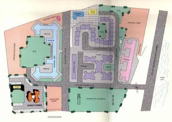 GHP Powai Vihar Complex Layout Plan