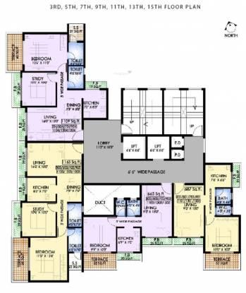 MK Dev Heights Cluster Plan