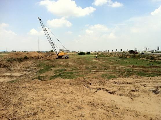 Vatika Express City Plots Construction Status