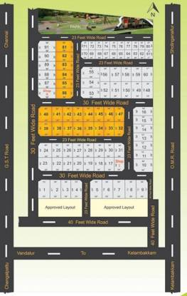 SM MGM Nagar Layout Plan