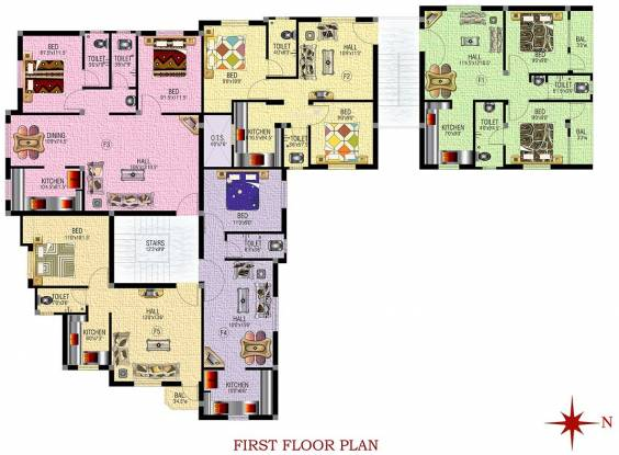 SM Royal Homes Cluster Plan