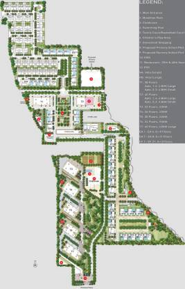 TATA Primanti Villa Master Plan