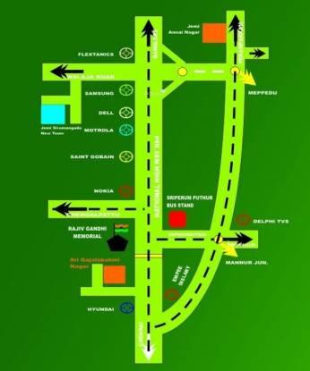 Jemi Annai Nagar Location Plan