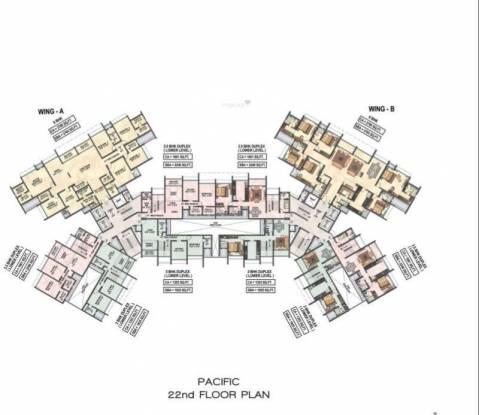 Raheja Waterfront Cluster Plan