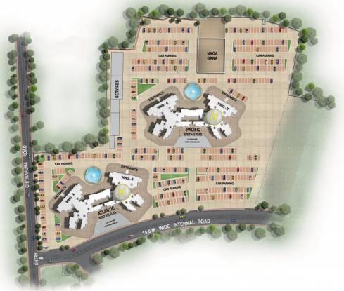 Raheja Waterfront Master Plan