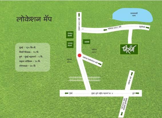 Sai Nisarg Location Plan