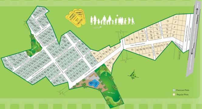 Disha Landmarc Silverscreen Layout Plan