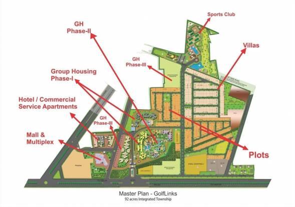 LandCraft Golflinks Plots Master Plan