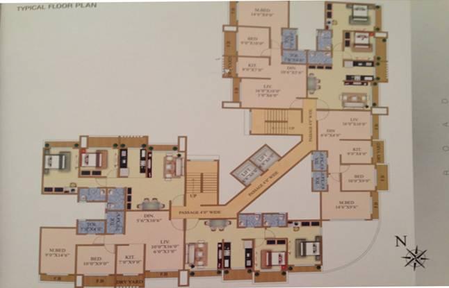Pratik Khushi Residency Cluster Plan
