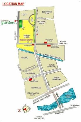 Express Garden Location Plan