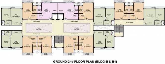 Disha Bay Vista Cluster Plan