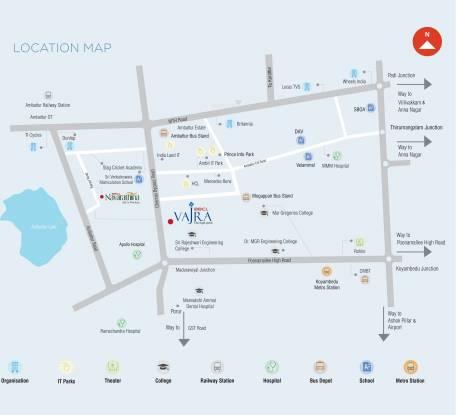 BBCL Vajra Location Plan