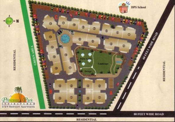 JNC Princess Park Site Plan