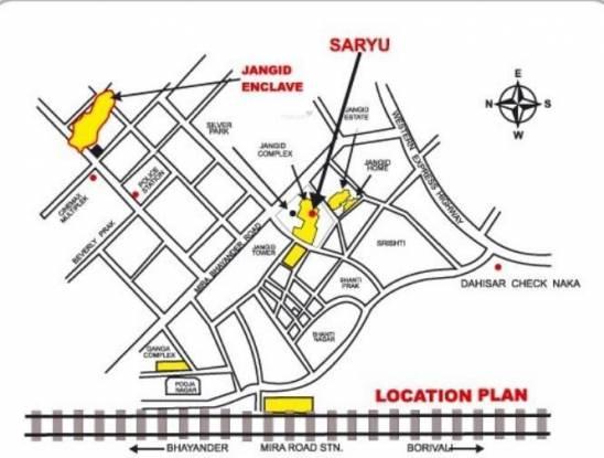 Jangid Saryu Location Plan