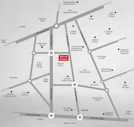 Marvel Amora Location Plan