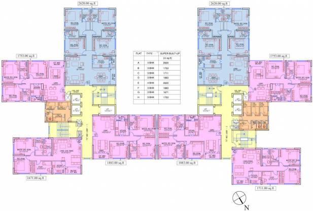 Ruchi Active Acres Cluster Plan