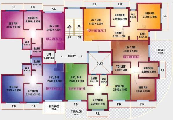 Dudhe Sai Saukhya Cluster Plan
