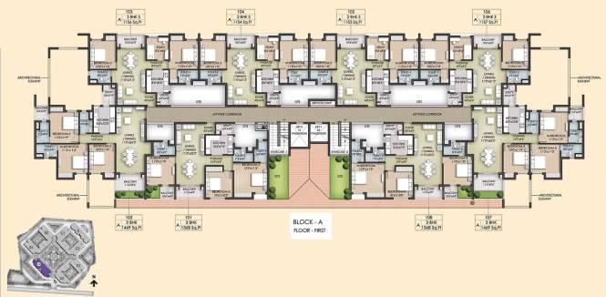 Akshaya Republic Cluster Plan