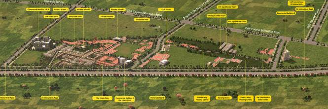 Anant The Estate Floors Layout Plan