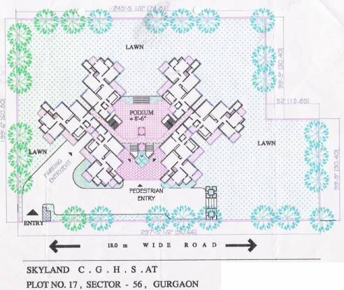 CGHS Skyland Apartments Site Plan
