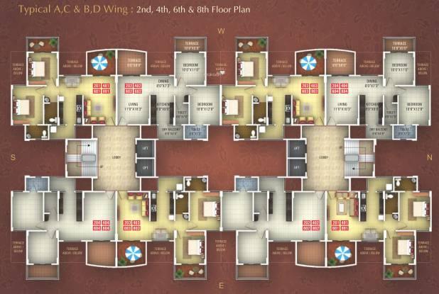 Gobind Ganesh Graceland Cluster Plan