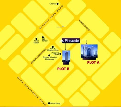 Kanungo Pinnacolo Location Plan