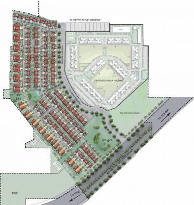 Unitech Opulence Site Plan