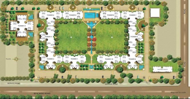 Puri Pratham Site Plan