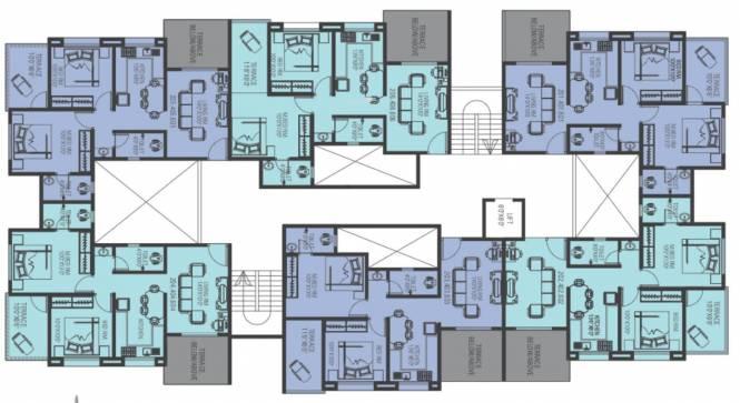 Arun Celesta Neo Cluster Plan