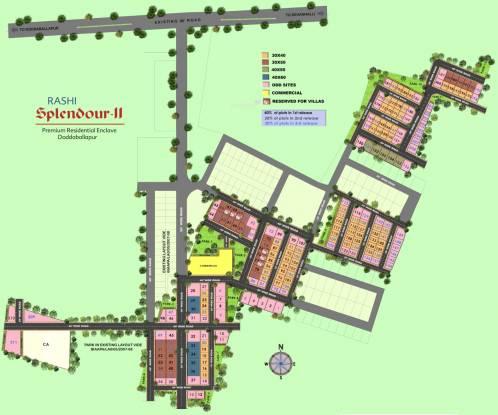 Rashi Splendour II Layout Plan
