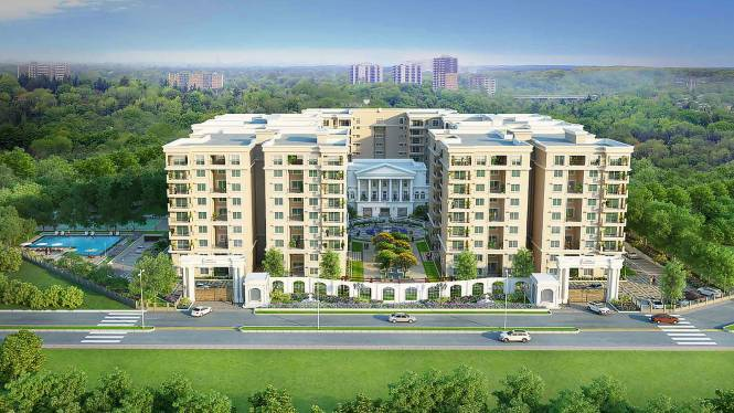 Sobha Palladian Elevation