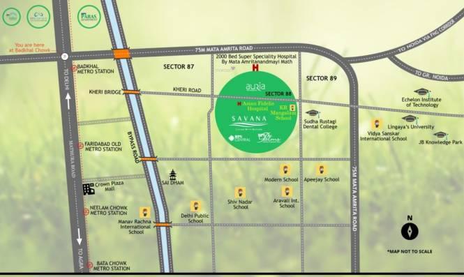 RPS Savana Location Plan