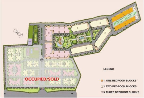 Trehan Hill View Garden Phase1 and Phase2 Layout Plan