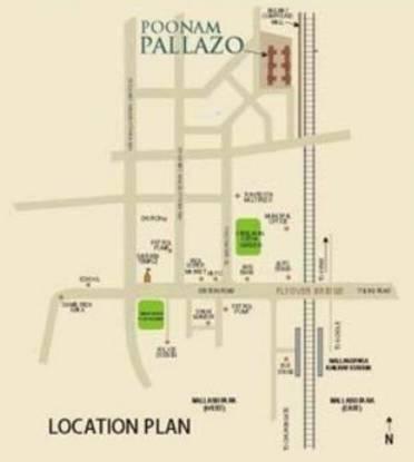 Poonam Pallazo Location Plan