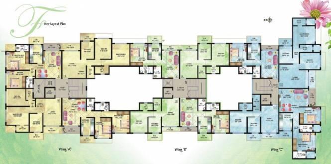 Dimples La Bellezza Cluster Plan