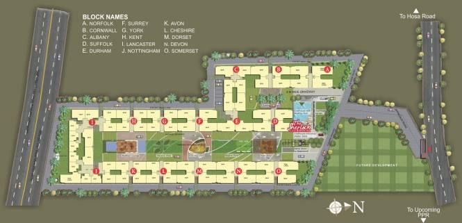 SJR Hamilton Homes Master Plan