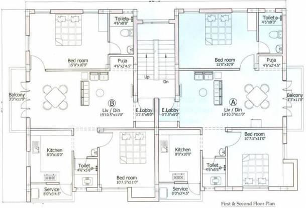 Pushkar Aishwaryam Cluster Plan