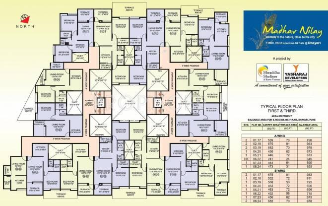 Shraddha Madhav Nilay Cluster Plan