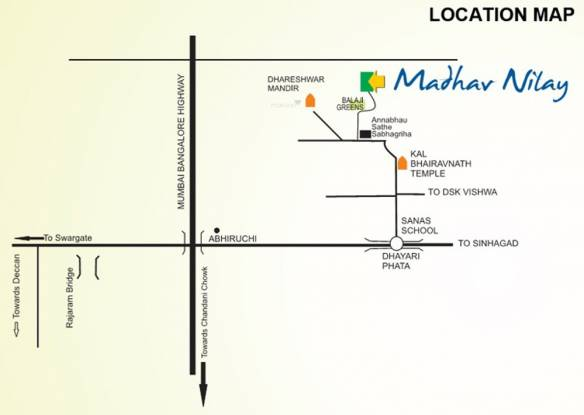 Shraddha Madhav Nilay Location Plan