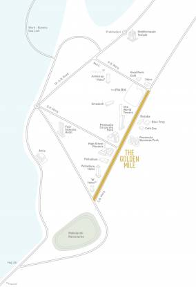 Lodha The Park Location Plan