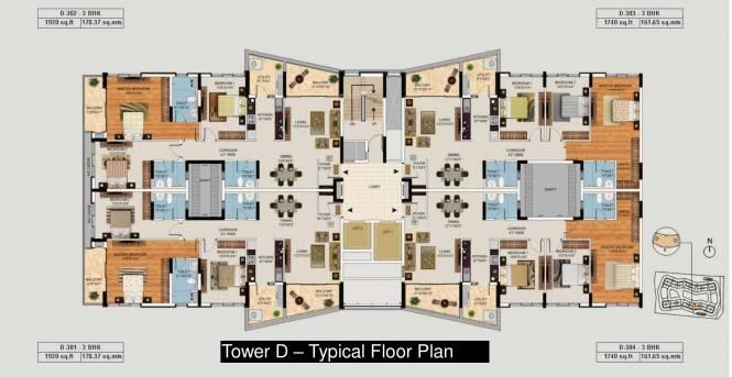 Mantri Lithos Cluster Plan